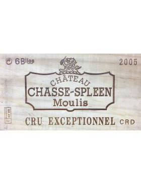 Château Chasse-Spleen 2005 CBO 6 bouteilles