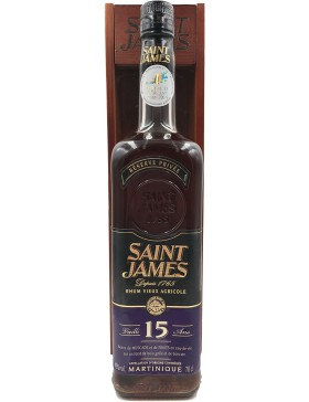 Saint James Vieux 15 years