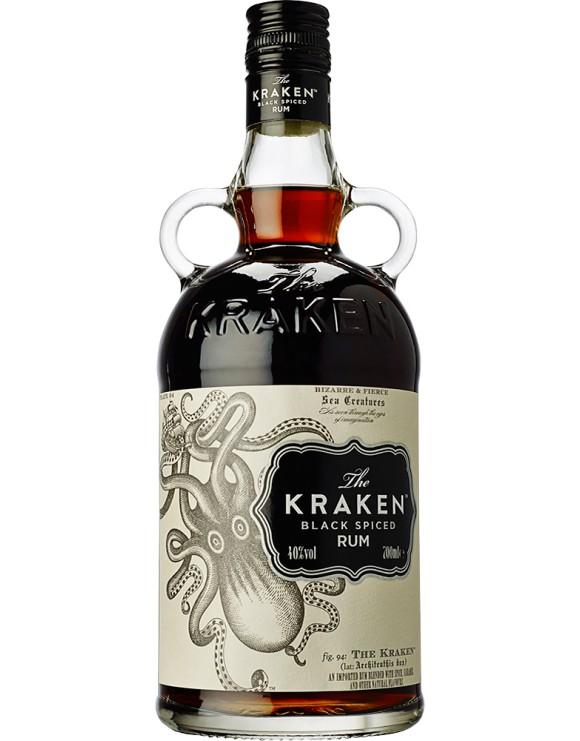 The Kraken Black Spiced 1 liter
